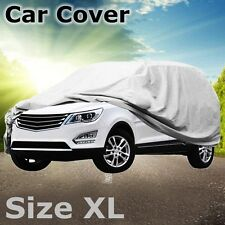 XL 17' Waterproof Scratch proof SUV large Car Cover Fit 4x4 Sport Vehicle 5.2M