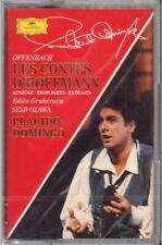 "PLACIDO DOMINGO "" OFFENBACH - LES CONTES D'HOFFMANN "" MUSICASSETTA SIGILLATA"