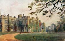 Warwick Castle Courtyard Entrance - 1914 Original Postcard - Quatremain (EPH)