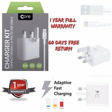 100% Original CORE  Charger Adapter Plug & Sync Data Cable For iPhone iPad iPod