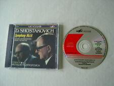 SHOSTAKOVICH Symphony No. 14 Vishnevskaya Reshetin Rostropovich CD album