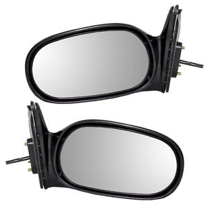 Fits Toyota Corolla Chevrolet Prizm 98-02 Set of Side View Manual Remote Mirrors