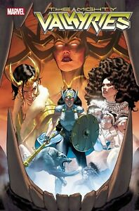 """Mighty Valkyries #1 Folded Promo Poster 24"""" X 36"""" Marvel Comics 2021"""