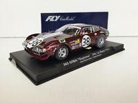 Slot SCX Scalextric Fly 88111 / A-654  Ferrari 365 GTB/4 Daytona Le Mans '72