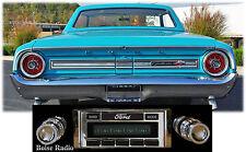 USA-630 II* 300 watt 1963-64 Ford Galaxie AM FM Stereo Radio iPod USB Aux inputs