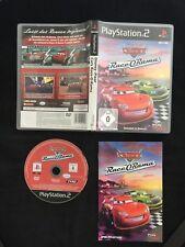 Ps2 Disney Pixar CARS Race-O-Rama OVP SONY PLAYSTATION 2 #ps2#00669