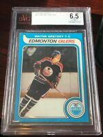 1979 -80 Topps Wayne Gretzky RC Rookie BVG 6.5 EX-MT+!