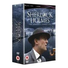 """SHERLOCK HOLMES COMPLETE SERIES COLLECTION 16 DISCS DVD BOX SET """"NEW&SEALED"""""""