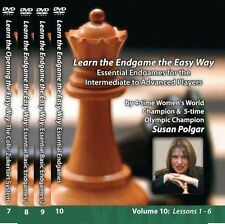 WINNING CHESS DVD SERIES - SUSAN POLGAR - COMPLETE 13 VOLUME INSTRUCTION SET