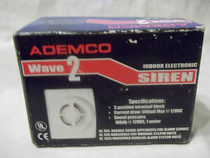 ADEMCO Wave 2 Siren