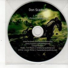 (DS708) Don Scannell, Mystery - DJ CD