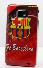 for samsung galaxy S2 i9100 and i777 S II case fc Barcelona football s