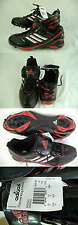New Mens 13.5 Adidas Diamond King 9 Meta Red Black Metal Cleats Shoes Baseball