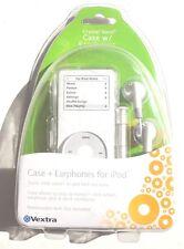 Vextra NANO Ipod ( Crystal ) CASE With EARPHONES