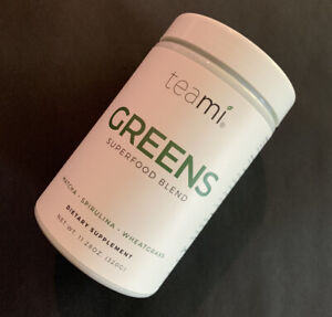 teami GREENS SUPERFOOD BLEND Dietary Supplement ~ 11.28 oz / 320 G ~ SEALED