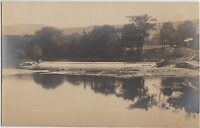 New York NY Real Photo RPPC Postcard c1910 CANDOR Lower Dam 1