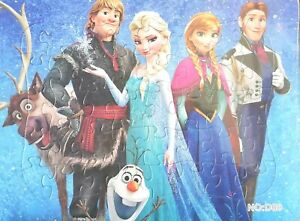 New Disney FROZEN Drawing Jigsaw Puzzle with Box Best Gift Toys for Kids 100-pcs