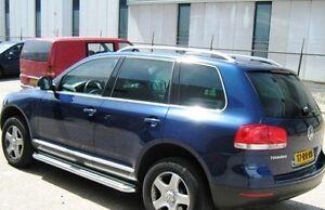 Volkswagen Touareg  2007-2010 OEM Style Aluminium Roof Rails Brushed Anodised