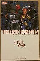 Thunderbolts (2007) Civil War tpb VF Nicieza Grummett Marvel