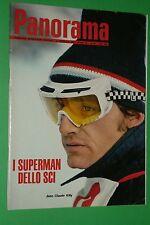 PANORAMA 95/1968 SUPERMAN DELLO SCI JEAN CLAUDE KILLY MATTIA MORENI CASSIUS CLAY