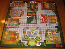 The Simpsons Clue Board Game - Hasbro / Parker  - Game Board Only - Parts