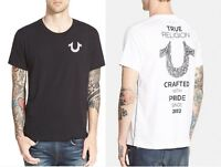 New! True Religion Brand Jeans Men's Crafted with Pride Horseshoe Tee T- Shirt