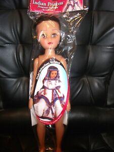 Fibrecraft 14.5 Inch Indian Princess Doll & Crochet Pattern