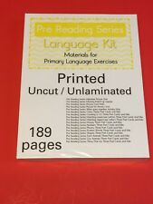 Pre Reading Series - Language Kit - Montessori Materials- (PRINTED)