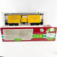 LGB 3084 Denver & Rio Grande Western Baggage Car G Scale Model Train New in Box