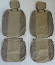2005 2006 2007 2008 Toyota Corolla LE/CE Seat Covers Exact Fit - Tan color