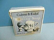 Vintage CRABTREE & EVELYN Lavender Shaving Bar Soap in box England 1986