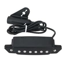"""Magnetic Sound Hole EQ Preamp Pickup for 39"""" 42"""" Acoustic Folk Guitar New V5W3"""