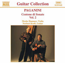 Moshe Hammer, N. Paganini - Centone Di Sonate 2 [New CD]