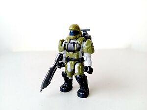 Mega Bloks Construx Halo Challenger Series green ODST Rare