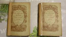 LE CHEVAL ET SON CAVALIER / COMTE DE LAGONDIE / TOME 1 ET 2  / 1874