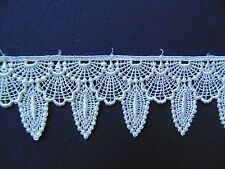 Cream/Ivory Venise Lace Trim 1 Metre    Sewing/Costume/Crafts