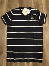 Brand New Abercrombie & Fitch Mens Muscle Shirt Stripe  Size:Medium