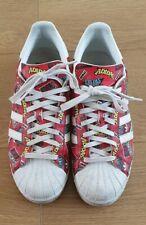 Adidas Superstar Nigo Bape AOP Retro Trainers Leather Red UK 9 US 9.5 Stormzy