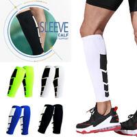 Calf Leg Running Sports Compression Leg Sleeve Socks Shin Splint Support Brace F