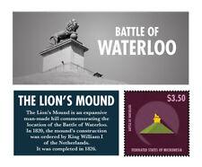 Micronesia - Battle of Waterloo Stamp - S/S MNH