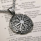 Viking Helm of Awe Premium Stainless Steel Pendant Necklace photo