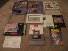 Mega Man X3 (Super Nintendo SNES) Complete CIB w/ Magazine Walkthrough + Ad