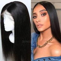 Silk Base Top Full Lace Wigs 100% Virgin Brazilian Human Hair Wig Long Straight