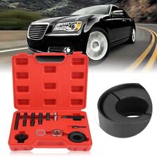 12 Pcs Car Power Steering Pulley Puller Remover Installer Tool KIt For GM Ford