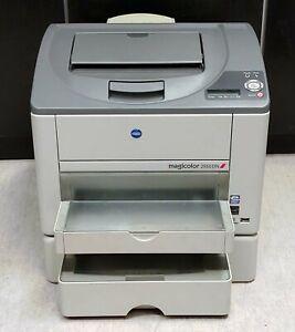 Konica Minolta magicolor 2550DN Farblaserdrucker gebraucht - 9.100 gedr.Seiten