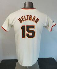 Womens Youth Majestic MLB Giants Beltran Jersey Size XL 67Y1 Polyester