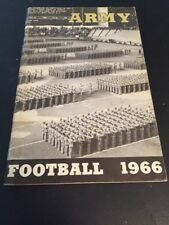 1966 NCAA Football Army Yearbook Media Guide