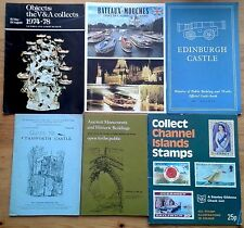 Selection of individual event, exhibition, hobby & travel guide booklets