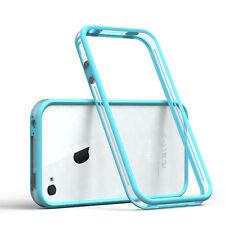 Bumper para Apple iPhone 4/4s funda Cartera, funda protectora, funda azul claro