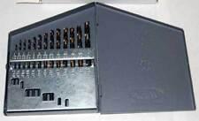 13 Pcs 116 14x64ths Gold Amp Black Heavy Duty Jobber Drill Set With Huot Index
